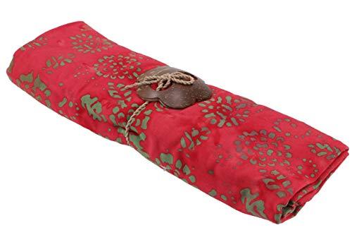Guru-Shop, Abito da Sarong Bali Batik, Gonna a Portafoglio, Sarong, Telo Mare, Design 41 con Fibbia, Sintetico, Dimensione Indumenti:One Size, 160x100 cm, Parei, Teli da Mare