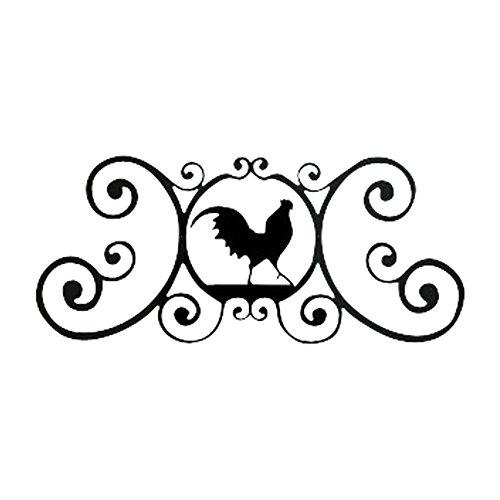 24 Inch Rooster Over Door Plaque