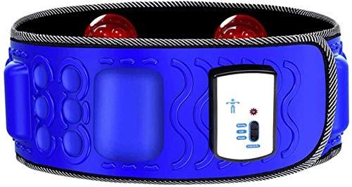 FXNB Agitador De Cinturón Adelgazante Vibrante Quemagrasas Cinturón Adelgazante Artefacto De Instrumento De Pérdida De Peso (Color, Azul), Azul, Azul