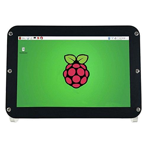 WIMAXIT 8 Zoll IPS 1280x800 Entschließungen DIY HDMI Bildschirm für Raspberry Pi 3 SKD Anzeige LCD Monitor mit PMMA Gehäuse und Micro USB Input Power Source