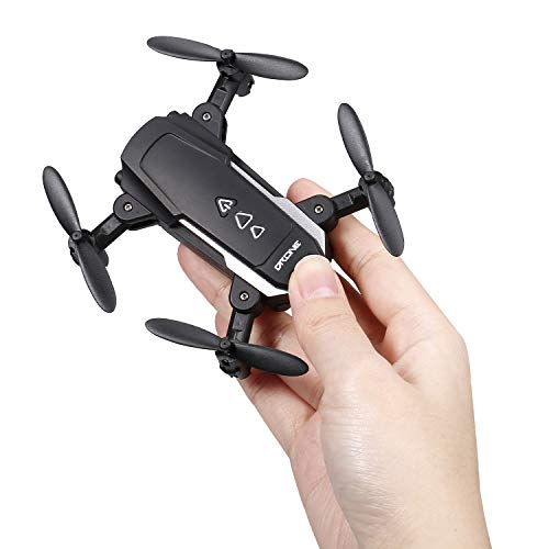 GoolRC KK8 Mini Drone Quadricóptero RC Câmera 720P HD 15mins Tempo de vôo 360 graus Flip 6-Axis Gyro Altitude Mantenha o controle remoto sem cabeça para crianças ou adultos treinando 1 bateria
