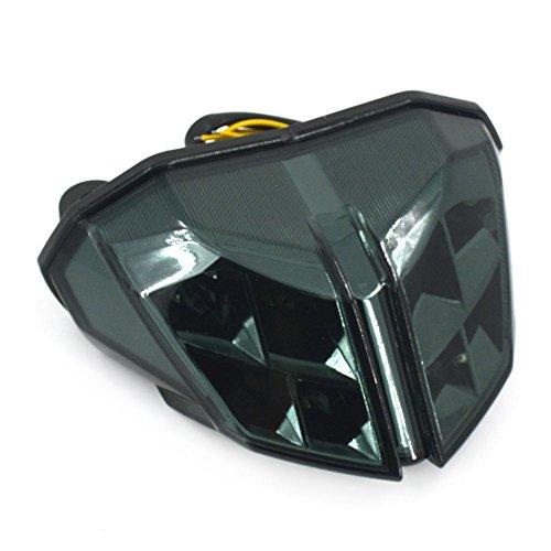 Un Xin Queue de Frein arrière Tour Signal lumière arrière pour Ducati Streetfight S 2009–2012 Streetfight 848 2012–2014 Streetfight 1100 2012–2014