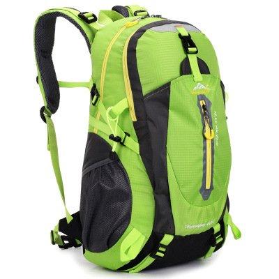 Alpinisme en plein air sac de gros sac à dos pour les hommes et les femmes 50L multi-usages étanche sac à dos sac à dos de randonnée , green