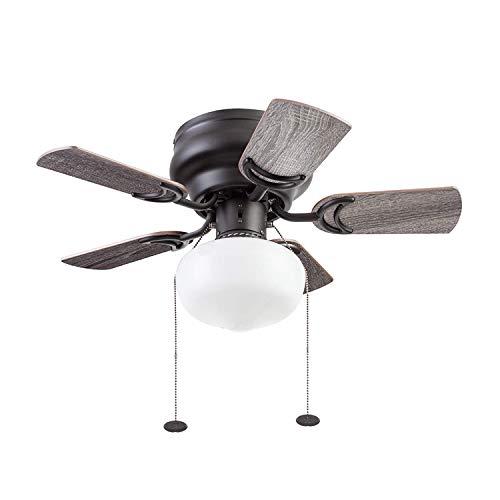 Prominence Home 51655-01 Hero Ceiling Fan, 28, Espresso