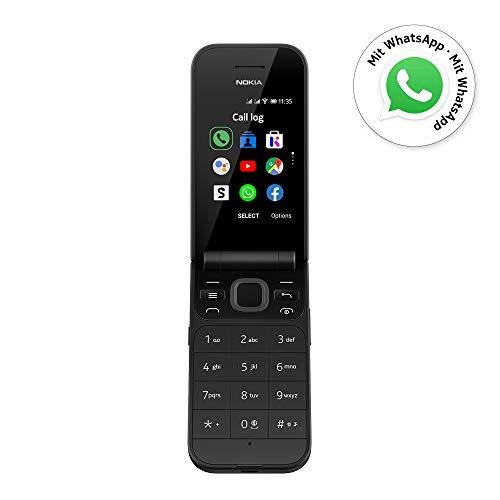 Nokia 2720 Flip Black Dual Sim [Versión importada: