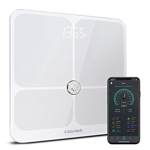 Innotech Smart Body Fat Scale with Bluetooth, Companion App - $42.74 Today