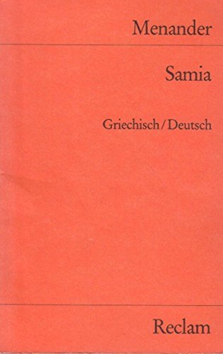 Price comparison product image Samia Griech.-dt.. Reclams Universal-Bibliothek; Nr. 9993