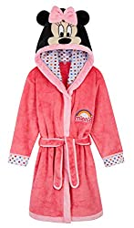 MINNIE MOUSE KIDS DRESSING GOWN --- Discover this gorgeous dressing gown for girls with a unique design! Our Disney robe in pink is made from super soft fleece material and features the most adorable Disney character, Minnie Mouse with super fun 3D e...