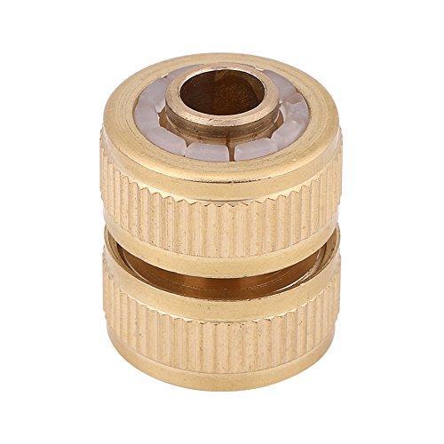 Messing verlengstuk stekker, 1/2 inch messing buisverbinding autowaswaterpistool tuinslang fitting aansluiting