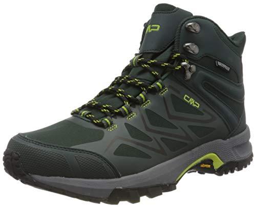 CMP – F.lli Campagnolo Gemini Mid Trekking Shoe WP, Stivali da Escursionismo Alti Uomo, Verde Jungle U940, 46 EU