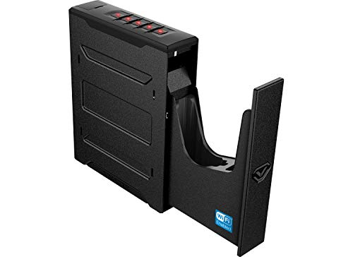 Vaultek Slider Series Rugged Bluetooth Smart Handgun Safe Quick Open Pistol Safe with Rechargeable Li-ion Battery (Biometric (Colion Noir Edition))