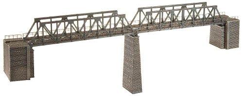 FALLER 222578 - 2 Kastenbrücken mit Brückenköpfen