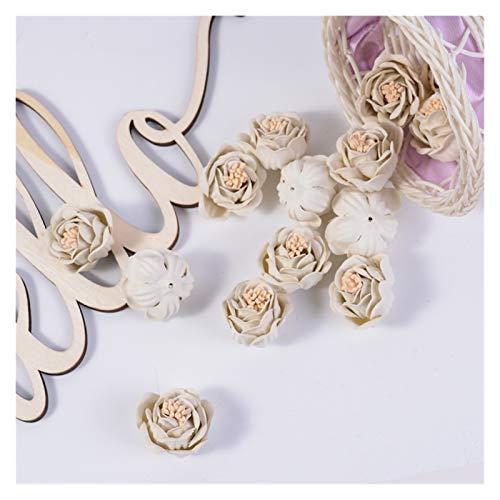 Flores artificiales 10 unids / lote flor artificial 3 cm seda rosa flor cabeza multicolor para fiesta de boda decoración del hogar DIY guirnalda regalo caja de regalo Accesorios de fotografía