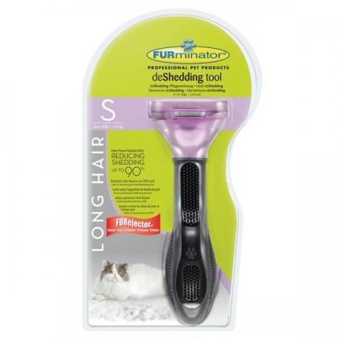 Furminator deShedding Tool für langhaarige kleine Katzen, Tierpflege, Fellpflege