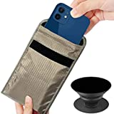 Security Pouch Anti Radiation Cell Phone Sleeve Case Bag Faraday Bag EMF 5G Signal Shield Signal Blocker Privacy Maternity Covers Car Key Fob Phone Bumpers