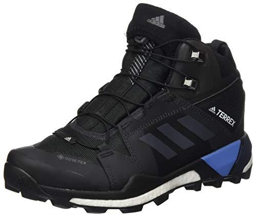 adidas Damen TERREY Skychaser XT MID GTX Walking-Schuh, CBLACK/GREFOU/REABLU, 39 1/3 EU