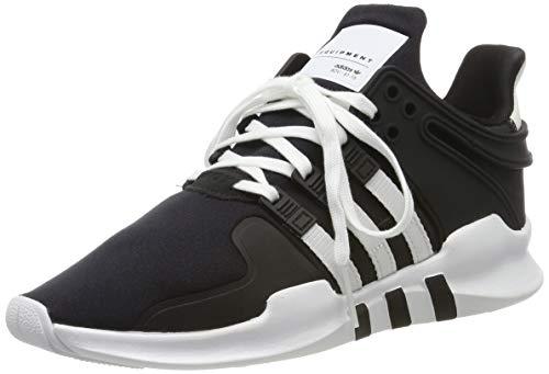 adidas EQT Support ADV J, Scarpe da Fitness Unisex-Adulto, Nero Negbás Ftwbla Negbás 000, 38 EU