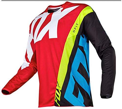 Fuchs MTB Trikot Mens Hpit Fox Downhill Shirts Mountain Bike MTB Shirts Offroad Dh Motorcycle Jersey Motocross Sportswear Fxr Jersey Dress 6XL