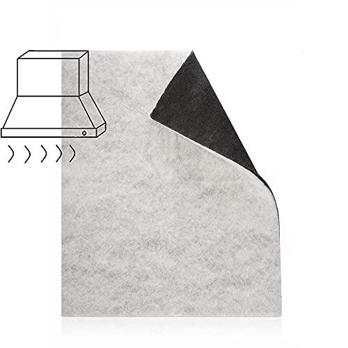 Filtermatte Dunstabzugshaube Filter 57*47 cm Aktiv-Kohlefilter Fettfilter zuschneidbare Filtermatten Universal Dunstabzugshaube