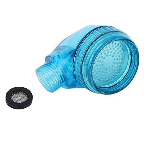 Liineparalle vaste douchekoppen Barber Shop kleine waterbesparende douchekop voor thuis Hotel Kapsalon Shampoo wastafel sproeikop blauw ABS materiaal