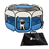 Floving Portable Foldable Pet Dog Cat Puppy Playpen/Outdoor use -8 Panel,Water resistant