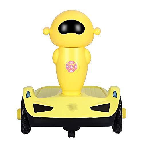 AMZYY Balance Bike Baby Walker, Walker (sin Pedales), Juguetes para Montar en Interiores, Primeros Regalos de Cumpleaños para Niños y Niñas de 1 año,Yellow