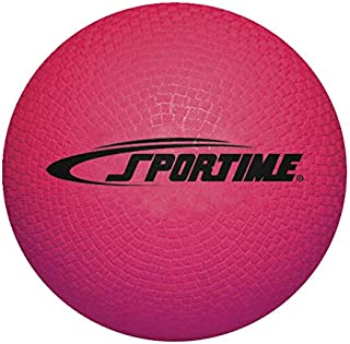 Sportime Playground Ball, 10 Inches, Red