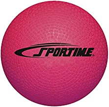 Sportime Playground Ball, 5 Inches, Red - 1293603