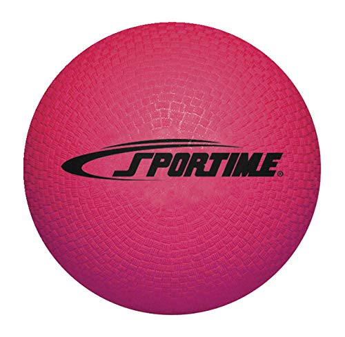 Sportime Playground Ball 10 Inches Red