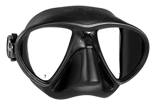 Mares X-Free Spearfishing Freediving Mask, Black Black