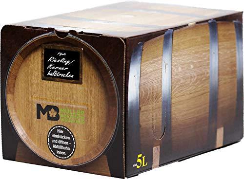 Pfälzer Weißwein Riesling/Kerner halbtrocken 1 X 5 L Bag in Box direkt vom Weingut Müller in Bornheim