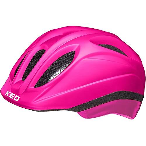 KED Meggy II Helm Kinder pink matt Kopfumfang S/M | 49-55cm 2021 Fahrradhelm