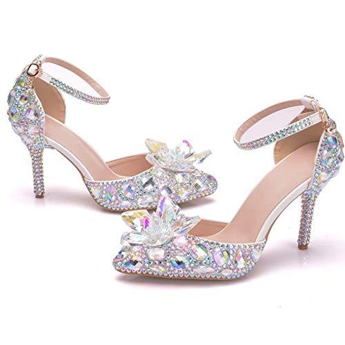 Zapatos de Boda, Zapatos de Novia y Dama de Honor Sandalias de...