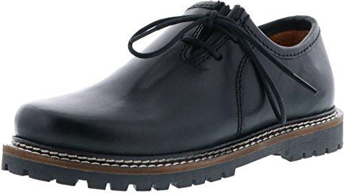 Vista Almhaferl Trachtenschuhe Kinder Haferlschuhe schwarz, Farbe:Schwarz, Größe:31