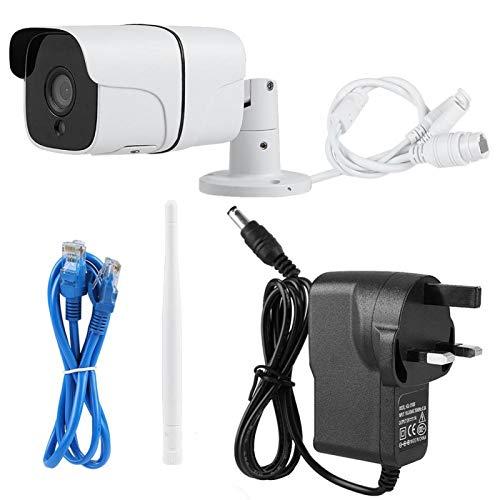 Cámara IP 720P Vigilancia inalámbrica Conexión WiFi Red Cámara de visión nocturna(100-240V British standard)