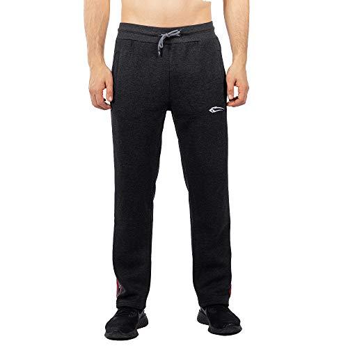 SMILODOX Herren Jogginghose Streak | Trainingshose für Sport Fitness Gym Training & Freizeit | Sporthose - Jogger Pants - Sweatpants Hosen, Farbe:Anthrazit, Größe:XXXL