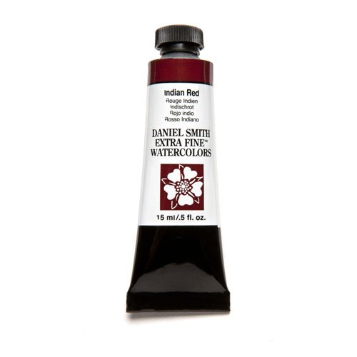 DANIEL SMITH Extra Fine Watercolor 15ml Paint Tube, Indian Red