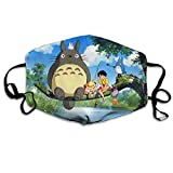 Yafeiya Design Anime Totoro Unisex for Face Cover One Size