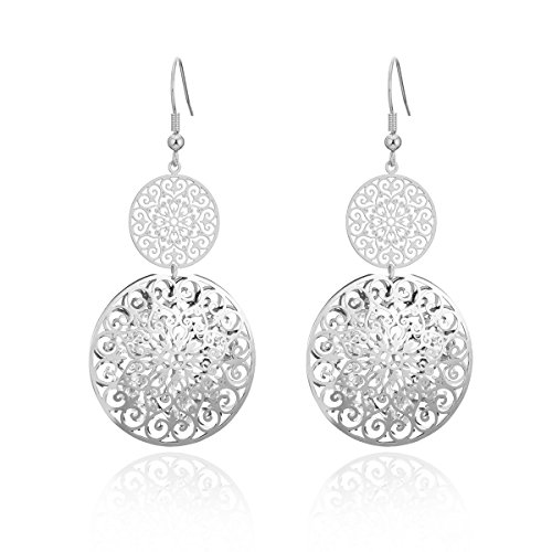 orecchini pendenti argento Orecchino a pendente per donna
