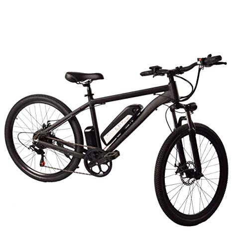 Jun Bicicleta De Ciudad Eléctrica De Batería De Litio Plegable 36V9.6AH, Bicicleta De Montaña De Nieve De Aleación De Aluminio para Adultos De 26 Pulgadas