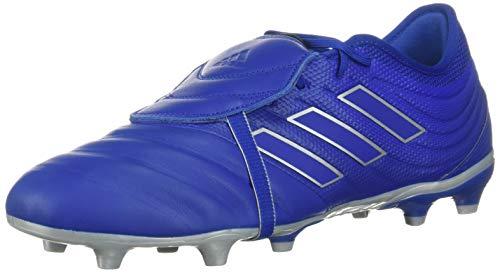 adidas Unisex Copa Gloro 20.2 Firm Ground Soccer Shoe, Blue/Blue/Silver, 10.5 US Men