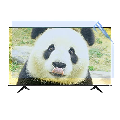 Anti-Blue Ligt TV Screen Protector, Matte Anti-Glare/Dust Filter Film for 50 Inch Screen,Filtering Reduce Computer Eye Fatigue,50' 1095 * 616