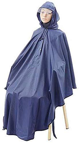 ZXL Regenjas Multifunctionele Lichtgewicht Regenjas Regenhoes Warm Droog Poncho rolstoel Universele fiets 100% Waterdicht Veiligheid Reflecterende strips Regenkleding