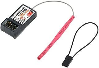 RCmall Flysky FS FS-R6B 2.4G 6 Channel Receiver Radio Model Remote Control Receiver for RC Car FS-TH9X
