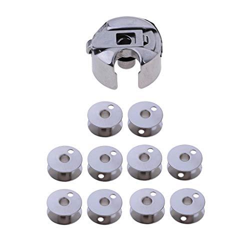 Metal Bobinas de Máquina de Coser Industrial Caja de Almacenaje
