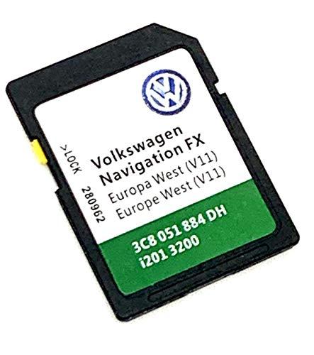 Dernieres VW RNS 310FX Navigations-SD-Karte Europa 2017/18V9West Golf Passat Jetta...