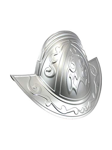 Nicky Bigs Novelties Deluxe Spanish Conquistador Knight Helmet Hat Costume Accessory, Silver, One Size