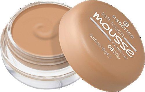 Essence Soft Touch Mousse Make-Up Nr. 08 Matt Vanilla Inhalt: 16g Mousse Make Up Foundation für einen natürlich matten Teint.