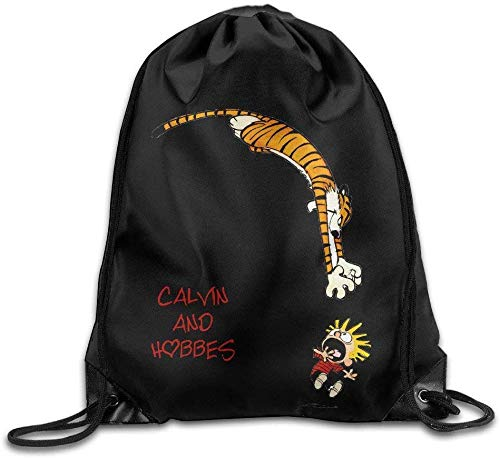 Unbekannt DoDoUp Rucksack mit Kordelzug Calvin and Hobbes Drawstring Backpack