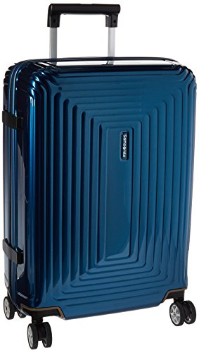 Samsonite Neopulse Hardside Luggage with Spinner Wheels, Metallic Blue, Carry-On 20-Inch